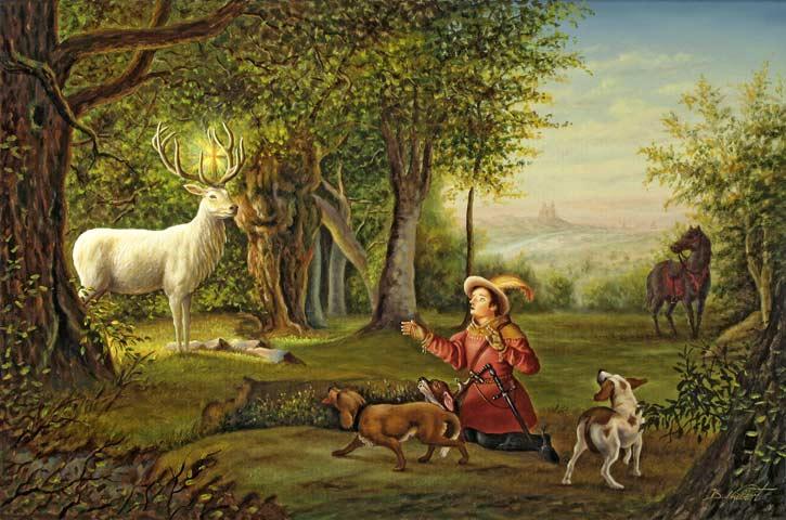 Hubertustag:den Schöpfer im Geschöpfe ehren