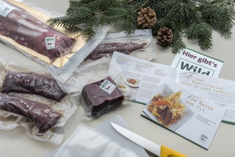 Wildfleisch aus der Region ist eine natürliche Delikatesse