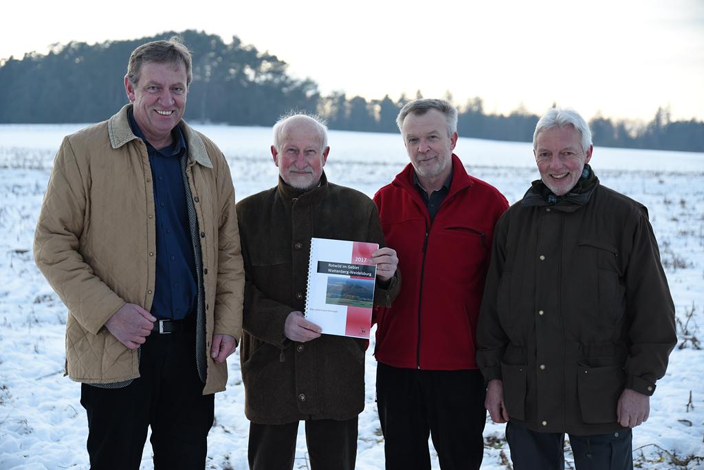 Rotwildhegegemeinschaft Wattenberg-Weidelsburg überreicht Lebensraumkonzept Rotwild