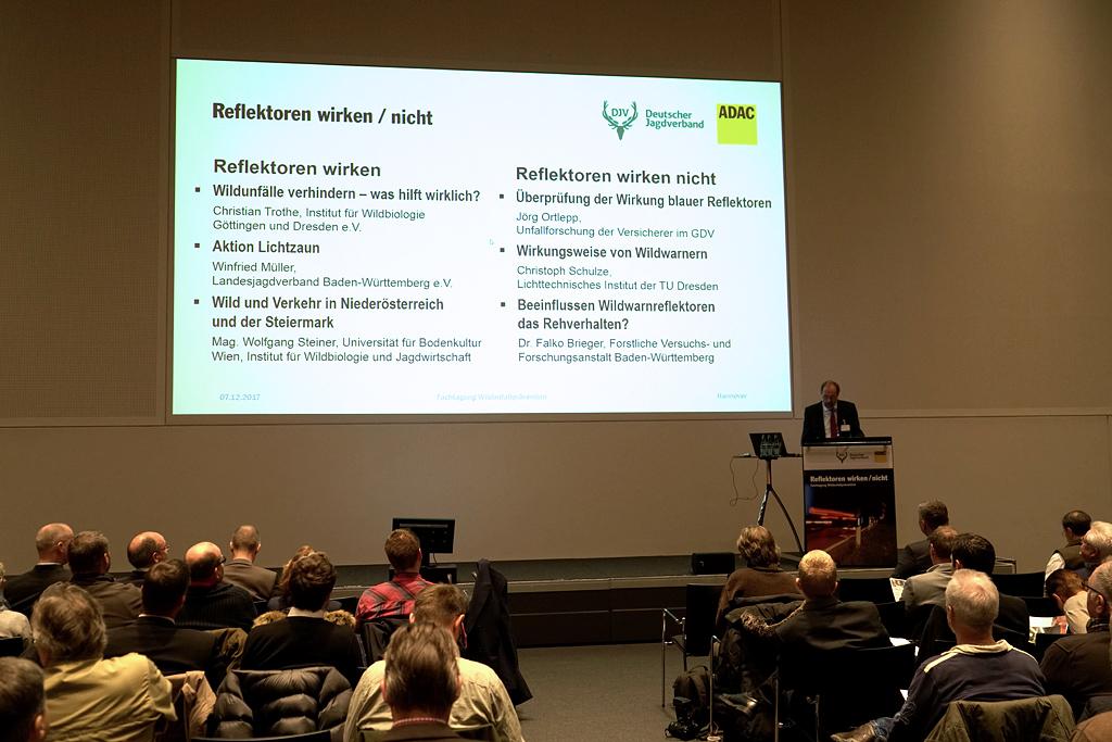 Fachtagung Wildunfallprävention 2017 in Hannover