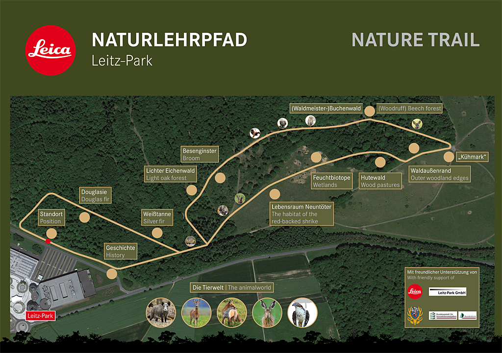 Leica Naturlehrpfad im Leitz-Park Wetzlar eröffnet