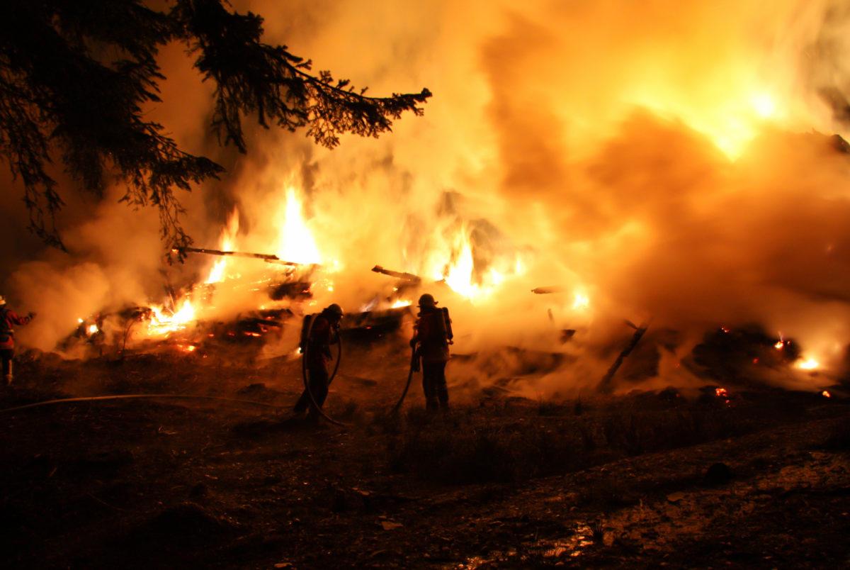 Hohe Waldbrandgefahr in weiten Teilen Hessens
