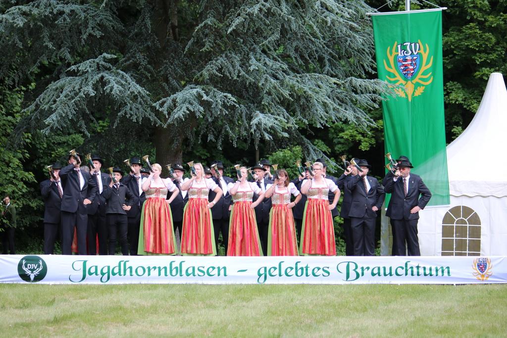 Landes- und Bundeswettbewerb im Jagdhornblasen