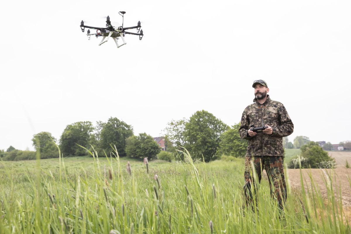 Aktualisiert: Bund fördert Drohnen für Kitzrettung