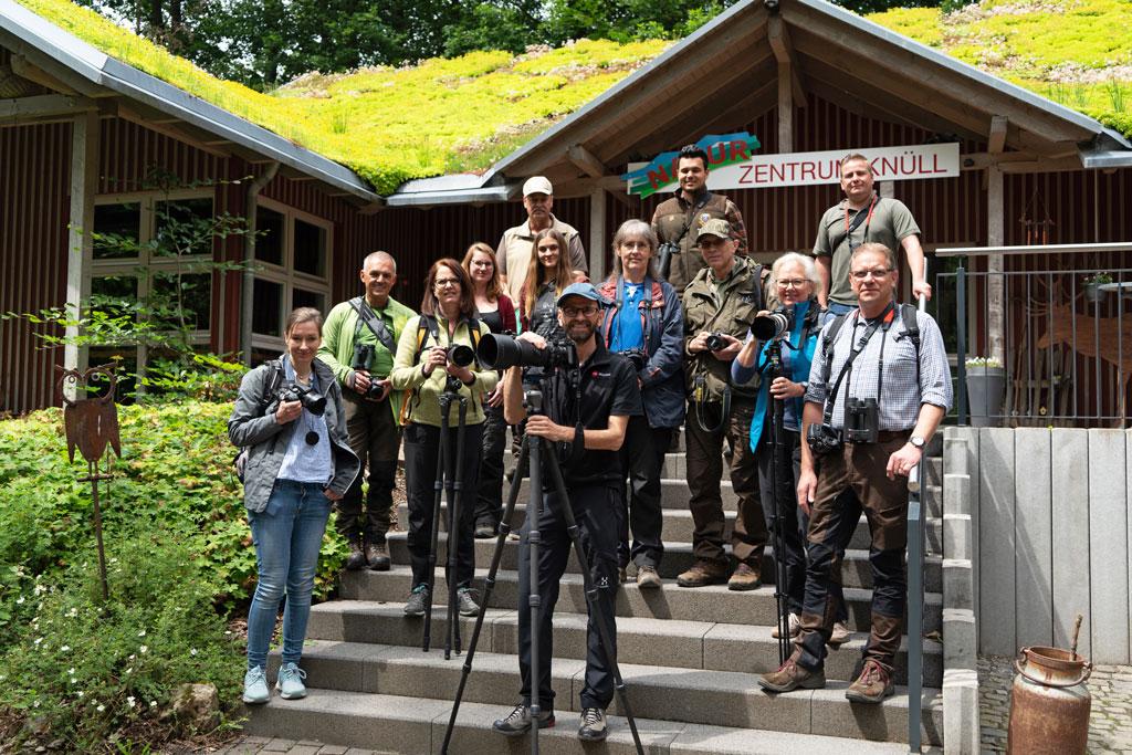 LJV-Hessen Workshop Wild fotografieren und grillen im Wildpark Knüll